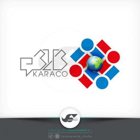 fazayesefid-logo-karaco01